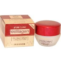 Крем-лифтинг для глаз 3W Clinic Collagen Lifting Eye Cream с коллагеном, 35 гр. Арт. 082757 (Юж. Корея)