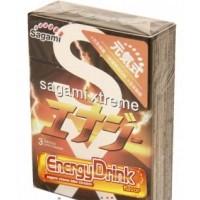 Японские латексные презервативы Sagami Energy 3 шт. Арт. 101153