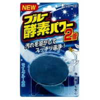 Таблетка для бачка унитаза Blue Enzyme Power с ароматом леса и голубым красителем 120 гр. Арт. 116294
