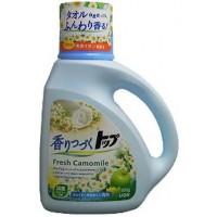 Жидкое средство для стирки LION ТОП аромат ромашки и зеленого яблока, флакон, 900 гр. Арт. 21573