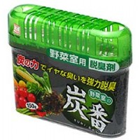 Дезодорант-поглотитель неприятных запахов KOKUBO Deodorant SUMI-BAN для холодильника с древесным углём (овощная камера) 150 гр. Арт. 219889