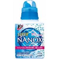 Жидкое средство для стирки LION Top Super NANOX, флакон, 450 гр. Арт. 24198