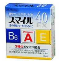 Глазные капли с витаминами Lion Smile 40 EX, 15 мл. Арт. 393573