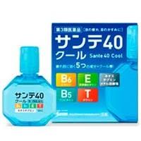 Santen Pharmaceutical Sante 40 COOL  Глазные профилактические,возрастные капли от покраснения и усталости глаз, 12мл. Арт. 411273