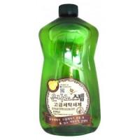 Жидкое средство для стирки с серебром NANO SILVER STEP Detergent, 1100 мл. Арт. 580046