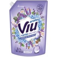 "Антибактериальный ароматизирующий кондиционер ""Aroma Viu Mediterranean Lavender"" - средиземноморская лаванда, мягкая упаковка, 2,1 л. Арт. 602266 (Юж. Корея)"