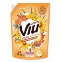 """Антибактериальный ароматизирующий кондиционер """"Aroma Viu Golden Mimosa""""- золотая мимоза, мягкая упаковка, 2,1 л. Арт. 602297"""