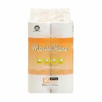 "Туалетная бумага двухслойная IDESHIGYO ""MARIEE CLAIRE"", белая, 27.5 м, 12 рулонов. Арт. 113890"