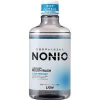 Профилактический зубной ополаскиватель LION Nonio с ароматом трав и мяты, 600 мл. Арт. 259350