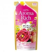 Кондиционер для белья LION Aroma Rich Scarlett  с цветочно-фруктовым ароматом, сменная упаковка, 430 мл. Арт. 263043