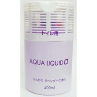 Японский освежитель воздуха запахов для туалета Nagara Aqua liquid с ароматом лаванды, 400 мл. Арт. 00250