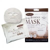 Маска для лица ежедневная с коллагеном JAPAN GALS 5 Pure Essence , 30 масок/уп. Арт. 00657