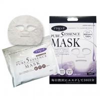 Маска для лица ежедневная с экстрактом плаценты JAPAN GALS 5 Pure Essence , 30 масок/уп. Арт. 00658