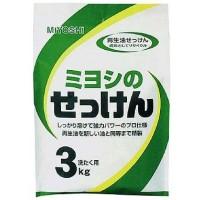 """Японское порошковое мыло для стирки на основе натуральных компонентов MIYOSHI""""S SOAP, 3000 г. Арт. 100707"""