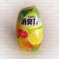 Японский жидкий дезодорант для комнат ST Shoushuuriki c ароматом грейпфрута, 400 мл. Арт. 113835