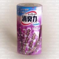 Японский жидкий дезодорант для туалета ST Shoushuuriki c ароматом лаванды, 400 мл. Арт. 115020