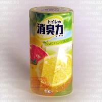 Японский жидкий дезодорант для туалета ST Shoushuuriki c ароматом грейпфрута, 400 мл. Арт. 115068