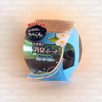 Японский освежитель воздуха на основе желе для комнат ST Shoushuu Pot с ароматом водяной лилии, 270 г. Арт.119714