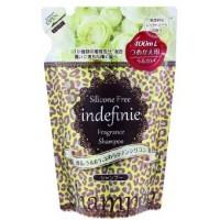 Шампунь для волос DOSHISHA INDEFINIE White Bouquet Shampoo Refill увлажняющий без силикона (аромат белого букета),сменная упаковка, 400 мл. Арт. 308676