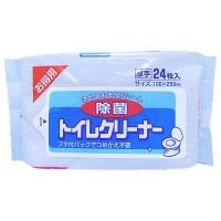 Влажные салфетки Showa Siko Toilet cleaner для очищения унитаза 24шт 160мм х 250мм Арт. 4002024