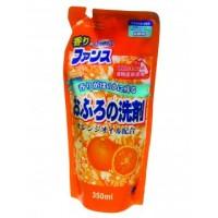 Чистящий гель-спрей для ванн и раковин Daiichi ФРАНЦУЗСКИЙ АРОМАТ с ароматом апельсина, сменная упаковка, 350 мл. Арт. 409191