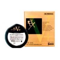 Витаминизированные глазные капли Santen Pharmaceutical Sante FX V Plus  (витамин B6 и таурин) от усталости глаз, 12 мл. Арт. 410450