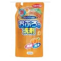Пенящееся чистящее средство для ванны Rocket Soap - апельсин, сменная упаковка, 350 мл. Арт. 09095