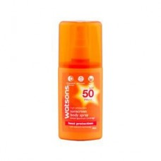 Солнцезащитный спрей Watsons High Protection Sunscreen body spray SPF50 PA +++, 90 мл. Арт. 048741