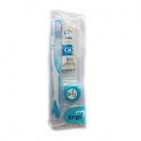 Дорожный набор: зубная паста «Ringo»  Sensitiv, 24 гр.  c зубной щеткой и зубной нитью. Арт. 20167
