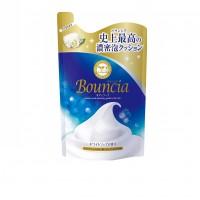 Увлажняющее мыло для тела со сливками и коллагеном MILKY BODY SOAP BOUNCIA , сменная упаковка, 400 мл. Арт. 008266