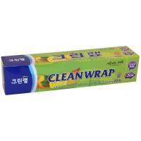 Плотная пищевая пленка Clean Wrap с отрывным краем-зубцами, 22см*20м.  Арт. 015222