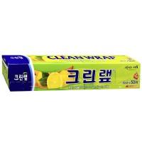 Плотная пищевая пленка Clean Wrap с отрывным краем-зубцами, 30см*50м.  Арт. 015413
