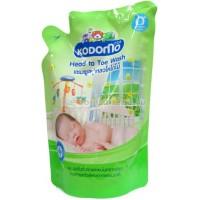 """Средство для мытья LION """"Кодомо"""" """"От макушки до пяточек"""" для детей (0+), сменная упаковка, 380 мл. Арт. 023079"""