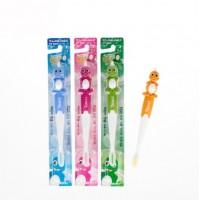 Зубная щетка Kids Toothbrush cо сверхтонкой двойной щетиной мягкой и средней жесткости для детей 4-10 лет. Арт. 140343