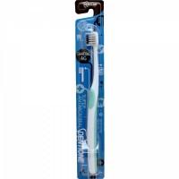 Зубная щетка EQ MAXON Dentione с компактной головкой, сверхтонкими щетинками и тонкой прорезиненной ручкой, с ионами серебра и древесным углем, средней жесткости. Арт. 169594