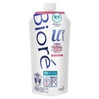 """Нежное жидкое мыло для тела  KAO Biore U Brilliant Bouquet """"Изысканный букет"""", с цветочным ароматом, сменная упаковка, 340 мл. Арт. 372536"""