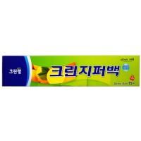 Плотные полиэтиленовые пакеты на молнии Clean Wrap 30см*35см, 15 шт. Арт. 029328