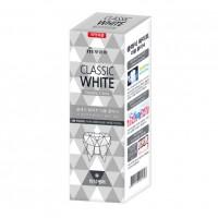 Отбеливающая зубная паста Classic White Double Clinic двойного  действия, с микрогранулами, аромат мяты, 110 гр. Арт. 901796