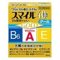 Японские глазные капли LION SMILE 40 EX GOLD 12 мл. Арт. 017035