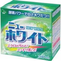 Стиральный порошок с отбеливателем и ферментами Mitsuei New White для удаления стойких загрязнений 0,9 кг. Арт. 060601