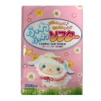 Мягкий кондиционер для белья Rocket Soap Premium с цветочным ароматом, сменная упаковка, 2000 мл. Арт. 093097