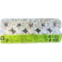 Туалетная бумага reFluty (вторичное целлюлозное волокно), 30 м, 10 рулонов. Арт. 201484