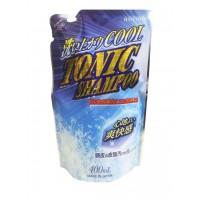 Тонизирующий шампунь для волос ROCKET SOAP Animo с ментолом, сменная упаковка, 400 мл.  Арт. 801403
