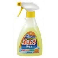 Антибактериальное пенящееся чистящее средство для ванной Foam spray Bathing wash с апельсиновым маслом 400 мл. Арт. 822566