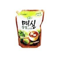 Средство для мытья посуды, овощей и фруктов CJ LION Chamgreen Японский абрикос, сменная упаковка, 965 мл. Арт. 61224