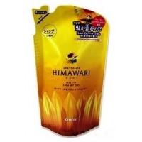 Шампунь для поврежденных волос  с растительным комплексом Kracie Himawari Dear Beaute Premium EX, сменная упаковка, 360 мл Арт. 70060